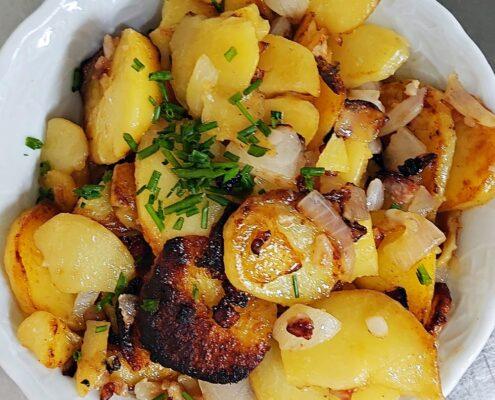 Restaurant Catharinenberg Bratkartoffeln