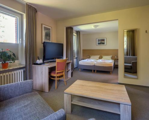 Hotel Catharinenberg Dreibett-Zimmer