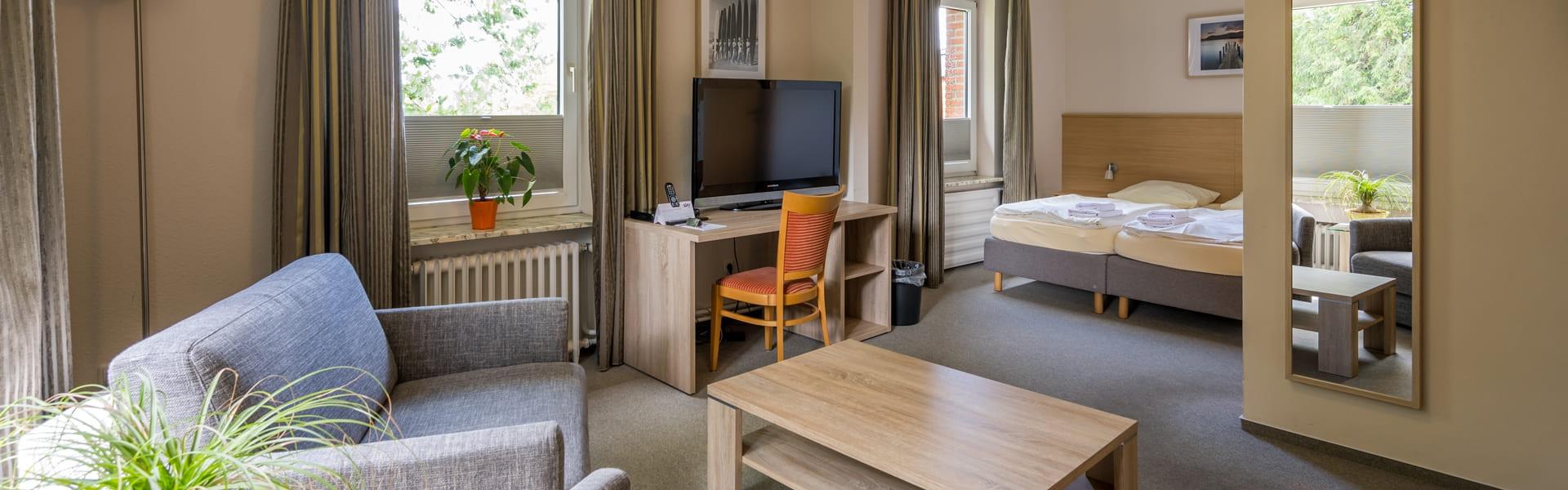 Dreibett-Zimmer mit Aufbettung Hotel Catharinenberg