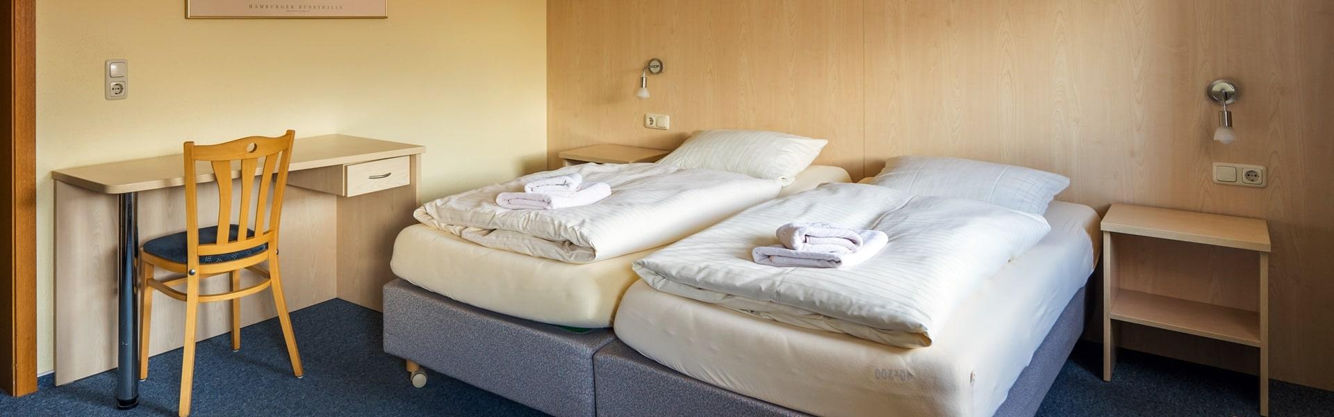 Zimmer im Hotel Catharinenberg